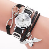 DUOYA F1D262 Love Dress Retro Style Ladies Bracelet Watch