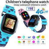 Y95 4G Bambino Smart Watch Phone GPS Impermeabile per bambini Smart Watch WiFi Localizzatore SIM anti-perso Tracker HD Videochiamata