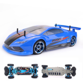 ZD Racing Pirates3 TC-10 1/10 2.4G 4WD 60km / h RC Car Electric Brushless Tourning Vehicles Modelo RTR