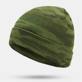 Men's Camouflage Wool Hat Pullover Hat