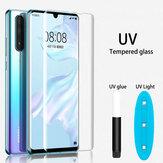 Bakeey HD Clear UV Liquid Full Glue Cover Curved Anti-Explosion Soft Tempered Glass Screen Protector For Xiaomi Mi Note 10 /Xiaomi Mi Note 10 Pro/ Mi CC9 Pro Non-original