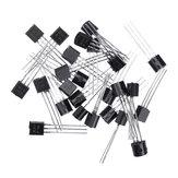 150 stücke BC547 + BC557 Jede 75 stücke BC547B BC557B NPN PNP Transistor TO-92 Power Triode Transistor Satz Tasche