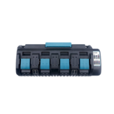 18V DC18SF 3A 4 Port Li-Ion Battery Charger for Makita 14.4V-18V BL1830 BL1840 BL1850 BL1860 BL1430 BL1440 BL1450 BL1460