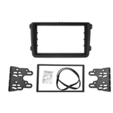 Car Double Din Frame Bracket Fascia Panel For VW Touran Caddy SEAT SKODA Fabia Octavia