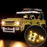 LED-Beleuchtung Beleuchtung Satz NUR für LEGO 42110 Technic Land Rover Defender Autospielzeug