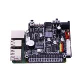 Yahboom Raspberry Pi Placa de expansão para AI Visual Robot GPIO Transmissão de voz Motor Drive Placa de extensão de driver multifuncional