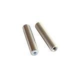 3Pcs Anet® M6 * 40mm Extrusora de bico em aço inoxidável Garganta com tubos de PTEF Tubos para 1,75 mm de filamento para impressora 3D