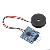 TZT 5V Piezoelectric Film Vibration Sensor Switch Module TTL Level Output Geekcreit for Arduino - products that work with official Arduino boards