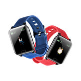 Bakeey Y12 NFC Payment 24H Continuous Heart Rate Fitness Tracker APP Push Replacement Strap Smart Watch
