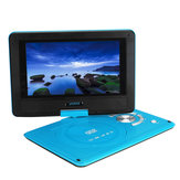 9.8 Inch Portable Car Rechargeable DVD Player Game Video Controller 270° Swivel Screen