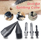 High Speed Woodworking Wood Separator Spiral Cone Household Firewood Splitter Drill Bit for Drill