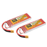 2Pcs ZOP Power 7.4V 6000mAh 45C 2S Lipo Bateria XT60 Plug Para Rc Racing Car