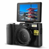 Amkov CD-RW WIFI 24MP 2.7K HD 4X zoom Anti-Shake 3.0 inch TFT scherm digitale camera met 52 mm lensadapter