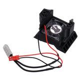ESC-Kühlkörper mit Lüfter für 1/10 TRX4 RC-Autoteile