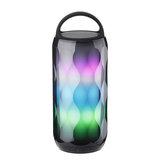 LED Colorful سماعة بلوتوث لاسلكية محمولة ضد للماء مكبر صوت هاي فاي ستيريو مع 2000 مللي أمبير البطارية