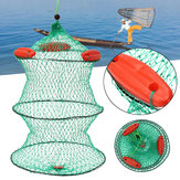 Nylon 3 Floats Floding Fischernetz Crab Fish Minnow Crawfish Shrimp Net