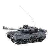 XJ13 4CH 2.4G RC Tank Car Vehicle With Music Light Children Toy