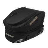 Waterproof Motorcycle Luggage Tail Bag Rear Seat Back Bags Helmet Pack  Black