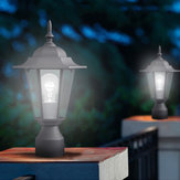 40W Outdoor Wall Lantern Lamp LED Garden Lamp Yard Patio Pillar Candle Security Light