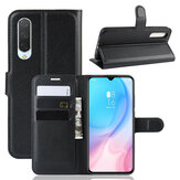 Bakeey Litchi Pattern Shockproof Flip with Card Slot Magnetic PU Leather Full Body Protective Case for Xiaomi Mi A3 / Xiaomi Mi CC9e