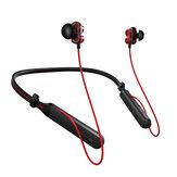 PLEXTONE BX345 Bezprzewodowe słuchawki Podwójne dynamiczne sterowniki Zestaw słuchawkowy bluetooth z pałąkiem na kark Stereo Bass Słuchawki sportowe z mikrofonem