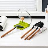 Pratico utensile da cucina Silicone Utensile porta spatola resistente al calore
