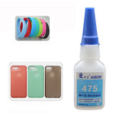 475 Transparent Silicone Glue Industrial Adhesive Instant Glue for TPU TPR TPE Rubber Leather