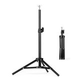 T-type Adjustable Background Support Stand Phone Holder Backdrop Photography Equipment