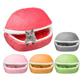 Removable Pet House Yurt Puppy Kennel Dog Cat Sleeping Bed Home Animals Mat