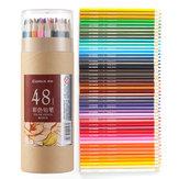 Comix MP2019 48 colores lápices de colores de madera pintura dibujo lápiz 48 piezas / barril oficina Escuela suministros