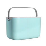 ハンドルと乾燥ラックフラップ防塵ベビー食器収納ボックスベビーカー収納袋付きポータブル哺乳瓶収納ボックス