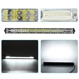 20 İnç 10 V-30 V 6000 K 180 W Çift Sıra LED Offroad Kamyon Tekneler Için İş Işık Bar Nokta Işın Su Geçirmez