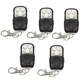 5Pcs DANIU 433mhz Electric Cloning Universal Gate Garage Door Remote Control Fob Key Fob