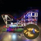 DIY LED-lichtverlichtingsset ALLEEN voor LEGO 10261 Roller Building USB-aangedreven