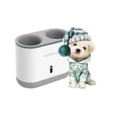 Copo para limpador de pata de cachorro Silicone Pentes automaticamente Lavadora de pés UV Esterilização Lavadora de pés portátil para animais de estimação Carregamento USB