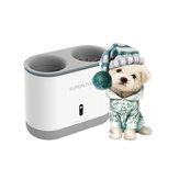 Hund Pfotenreiniger Tasse Silikon Kämme Automatisch Fußwaschgerät UV Sterilisation Tragbares Haustier Fußwaschgerät USB-Aufladung