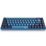 AKKO 3068 SP Ocean Star 68 Keys Cherry Switch Side Printed USB 2.0 Type-C Wired Mechanical Gaming Keyboard