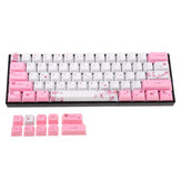 MechZone OEM Profil PBT Sublimation Sakura Keycap für 60% Anne Pro 2 Royal Kludge RK61 Geek GK61 GK64 Mechanische Tastatur