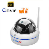 BESDER 6003MW-HX201 Vandal-proof 1080P HD  IP Camera WiFi AP Hotspot ONVIF P2P Motion-Detection Alert Dome Security Baby Monitors