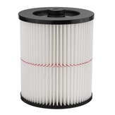 Vacuum Cleaner Air Cartridge Filter for Shop Vac Craftsman 17816 9-17816 Filter Wet/Dry Air Filter Replacement Part fit 5 Gallon & Larger Vacuum Cleaner