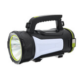 3500LM 500W LED Searchlight LED USB Searchlight 3 modalità Spotlight Flashlight Lampada da lavoro