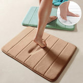 40 x 60cm/50 x 80cm Memory Foam Mat Absorbent Pad Non-slip Rugs Bathroom Shower Bath Mats Carpet Living Room