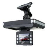 TFT de 2 pulgadas LCD 1080P Coche Cámara DVR Dash Recorder Pro Detector de velocidad Visión nocturna