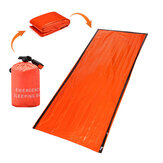 Outdoor PE Reusable Emergency Sleeping Bag Thermal Waterproof Camping Survival Blanket