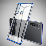 Bakeey Plating Shockproof Transparent Ultra-thin Soft TPU Protective Case for Xiaomi Redmi Note 8T