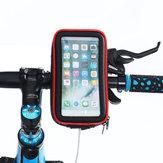 À prova d 'água Da Bicicleta Da Bicicleta Da Motocicleta Guiador Telefone Bolsa Suporte Do Telefone Para 4.0-6.5 polegada Telefone Inteligente iPhone XS Max Samsung Galaxy S10 +