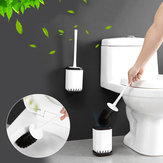 Home Toilet Brushes Holder Stand Guard Set Wall-mounted Bathroom Cleaning Tool