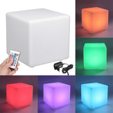 Cocktail Tables Chair Color Changing LED Clubbing Lighting Stool Night Stand 30cm x 30cm x 30cm