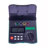 DUOYI DY4300A Digital Ground Earth Resistance Tester Meter 0.001 Ohm - 200KOhm 94Hz 105Hz  111Hz 128Hz