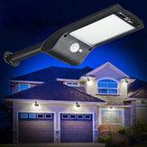 36 LED Солнечная Wall Street Light PIR Motion Датчик Водонепроницаемы На открытом воздухе Сад Лампа